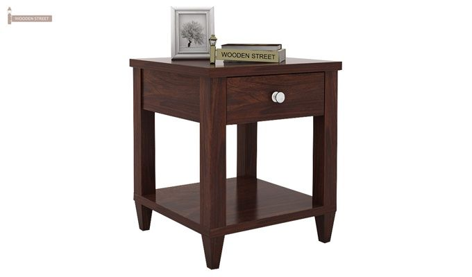 Corsey Bedside Table (Walnut Finish)-1