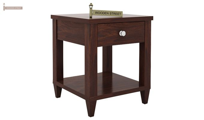 Corsey Bedside Table (Walnut Finish)-3