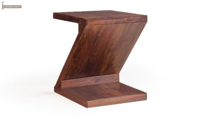 Cristoffer Bedside Table (Teak Finish)-3