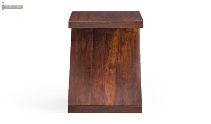 Cristoffer Bedside Table (Teak Finish)-4
