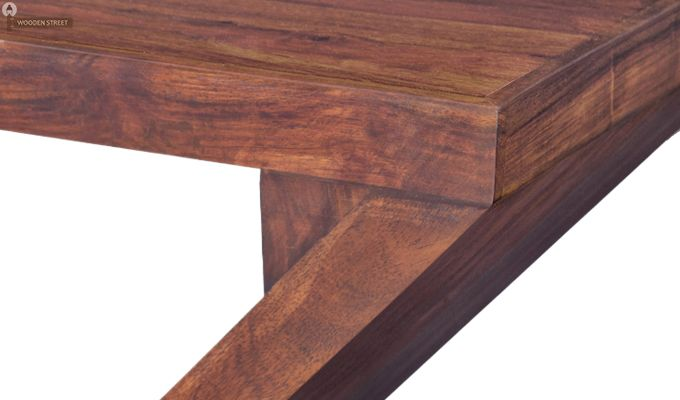 Cristoffer Bedside Table (Teak Finish)-5