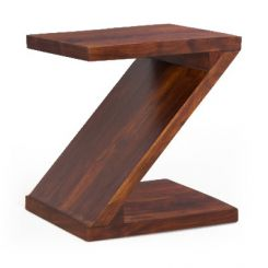 Cristoffer Bedside Table (Teak Finish)