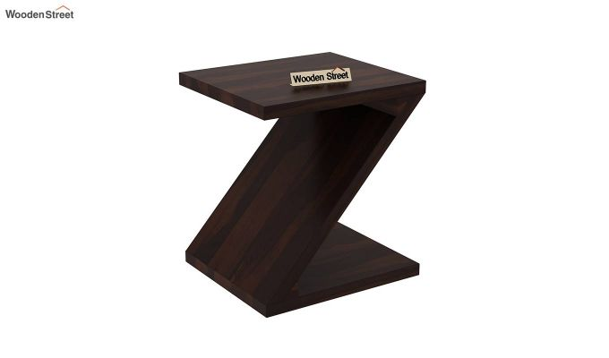 Cristoffer Bedside Table (Walnut Finish)-2