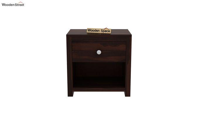 Denzel Bedside Table (Walnut Finish)-3
