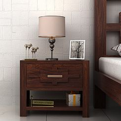 Eden Bedside (Walnut Finish)