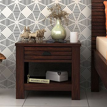 buy wooden side table for bedroom