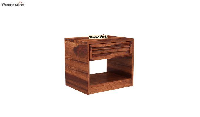 Ferguson Bedside Table (Honey Finish)-2