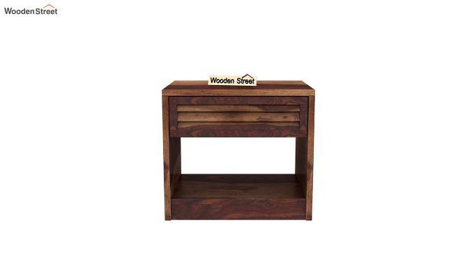 Ferguson Bedside Table (Teak Finish)-3