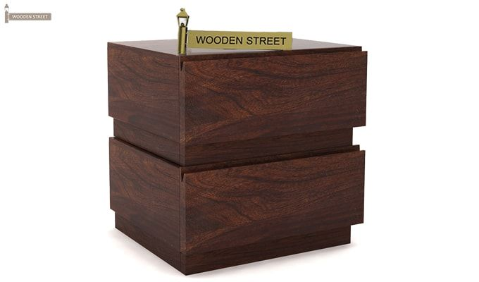 Florian Bedside Table (Walnut Finish)-3