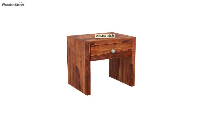 Hayden Bedside Table (Honey Finish)-2