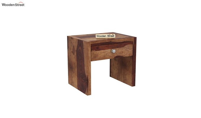 Hayden Bedside Table (Teak Finish)-2