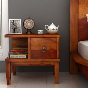 Bed Side Table With Drawer