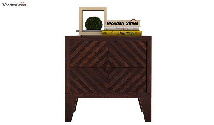 Horton Bedside Table (Walnut Finish)-2