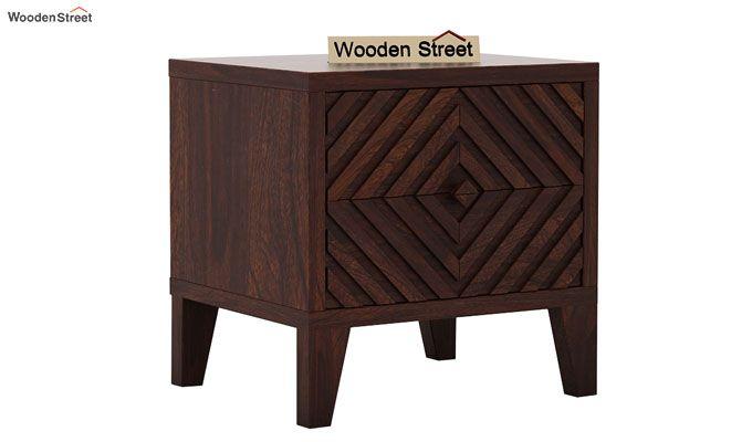 Horton Bedside Table (Walnut Finish)-3