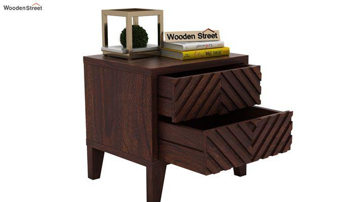 Horton Bedside Table (Walnut Finish)-4
