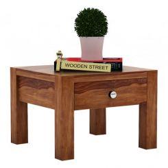 Hout Bedside Table (Teak Finish)