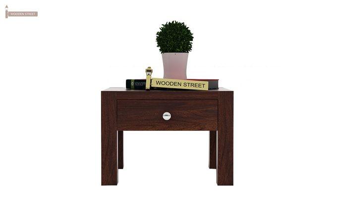 Hout Bedside Table (Walnut Finish)-2