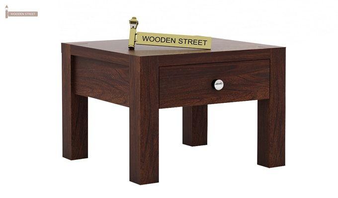 Hout Bedside Table (Walnut Finish)-3