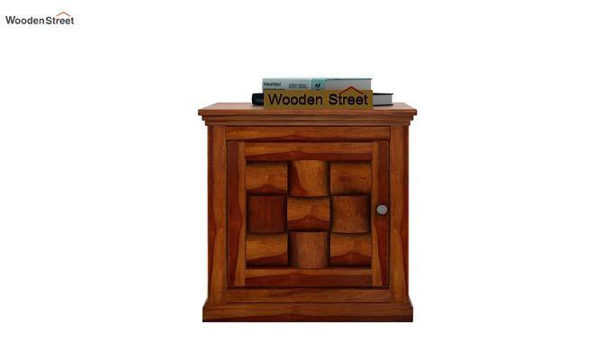 Howler Bedside Table (Honey Finish)-3
