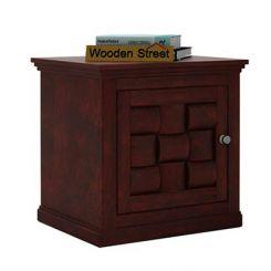 Howler Bedside Table (Mahogany Finish)