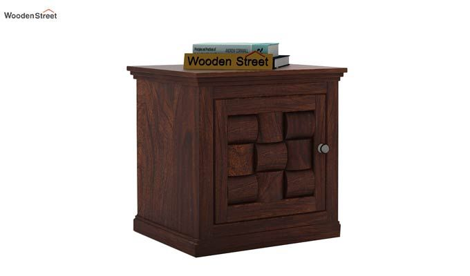 Howler Bedside Table (Walnut Finish)-1
