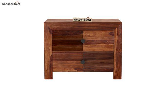 Jackson Bedside Table (Teak Finish)-3