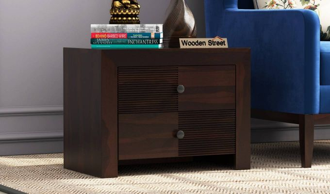 Jackson Bedside Table (Walnut Finish)-1