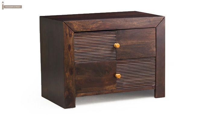 Jackson Bedside Table (Walnut Finish)-2