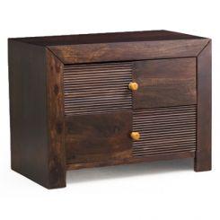 Jackson Bedside Table (Walnut Finish)