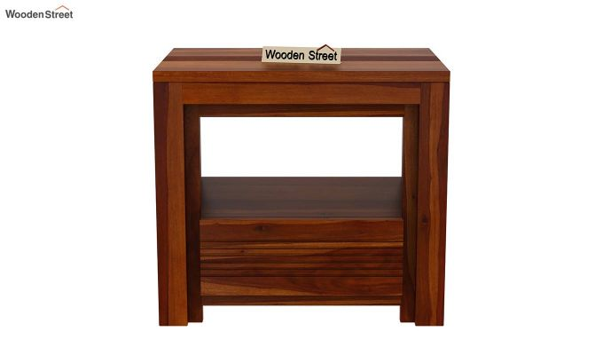 Jennifer Bedside Table (Honey Finish)-3