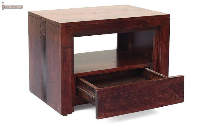 Jennifer Bedside Table (Teak Finish)-1