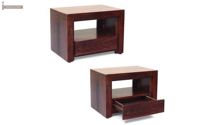 Jennifer Bedside Table (Teak Finish)-3