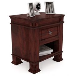 Kingsley Bedside Table (Mahogany Finish)