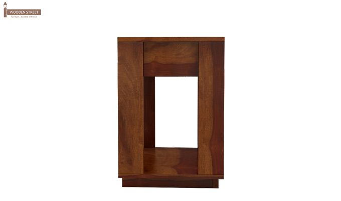 Kristin Bedside Table (Honey Finish)-6