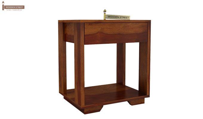 Kristin Bedside Table (Honey Finish)-5