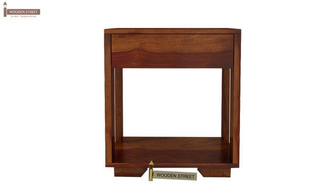 Kristin Bedside Table (Honey Finish)-9