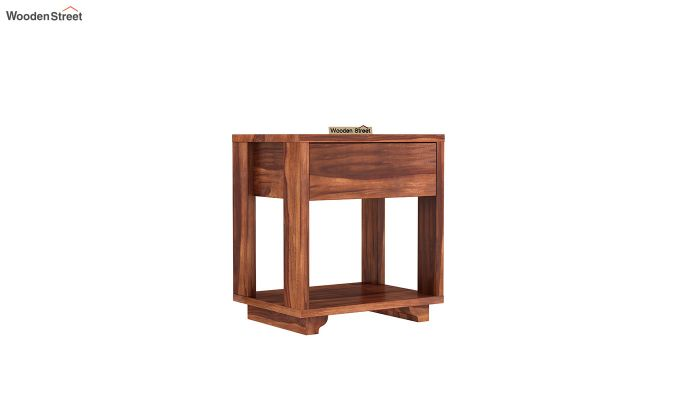 Kristin Bedside Table (Honey Finish)-2