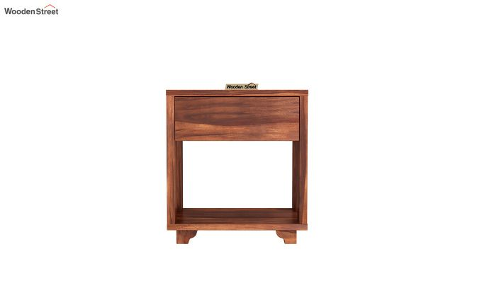 Kristin Bedside Table (Honey Finish)-3
