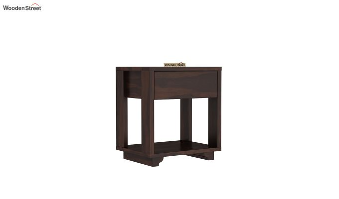 Kristin Bedside Table (Walnut Finish)-2