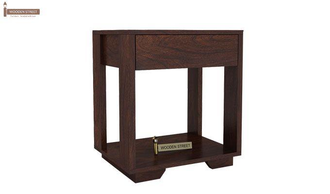 Kristin Bedside Table (Walnut Finish)-3