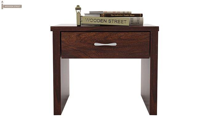 Libron Bedside Table (Walnut Finish)-2