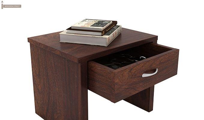 Libron Bedside Table (Walnut Finish)-4
