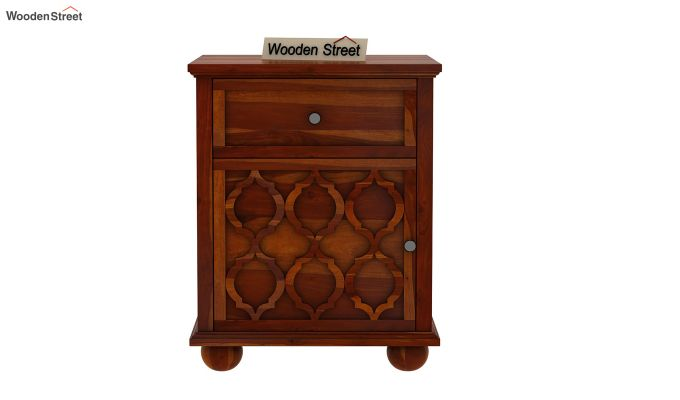 Montana Bedside Table (Honey Finish)-2