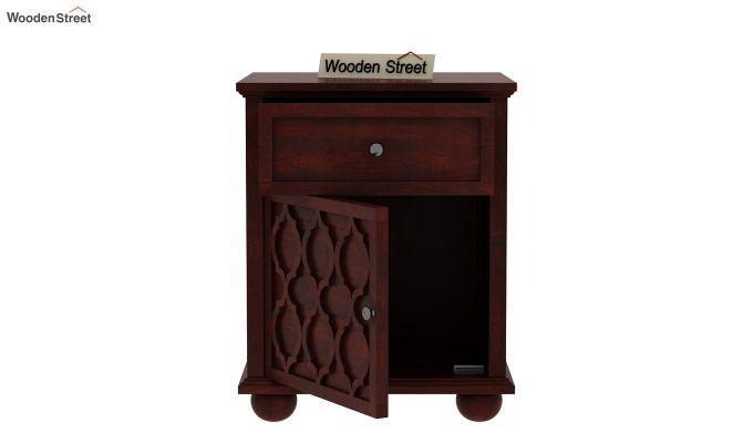 Montana Bedside Table (Mahogany Finish)-4