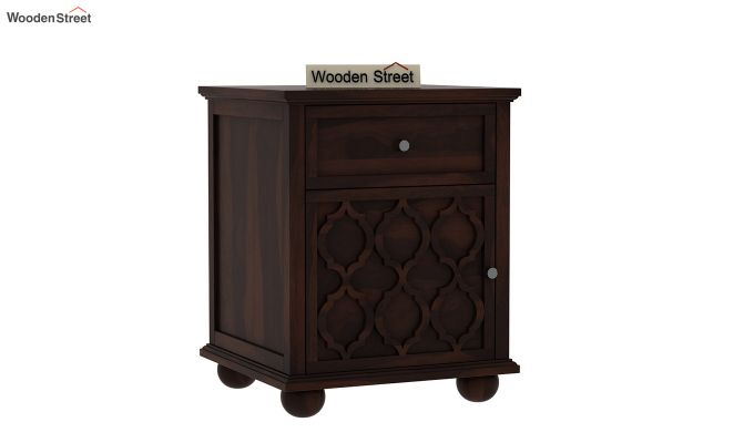 Montana Bedside Table (Walnut Finish)-1