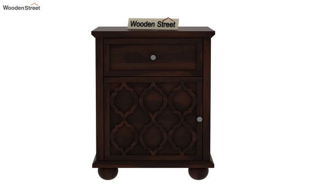 Montana Bedside Table (Walnut Finish)-2