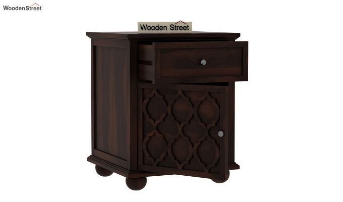 Montana Bedside Table (Walnut Finish)-3