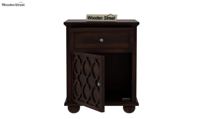 Montana Bedside Table (Walnut Finish)-4