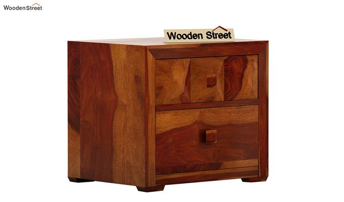 Morse Bedside Table (Honey Finish)-3