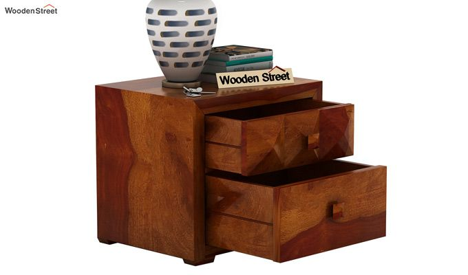 Morse Bedside Table (Honey Finish)-4